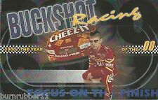 "2000 BUCKSHOT JONES ""CHEEZ-IT RACING"" #00 NASCAR BUSCH SERIES POSTCARD"