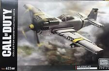 Mega Bloks Call of Duty Legends Air Strike Ace Construction Set P-51 Mustang