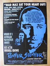 ROMPER STOMPER 1992 Rare Australian one sheet movie poster NM Russell Crowe