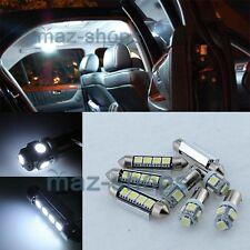 19Pcs light White LED Interior plate Bulb Fit 97-02 BMW E39 520 525 530 535