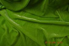 SETA / VISCOSA VELLUTO, 114 cm di larghezza, Lime verde, per mezzo metro