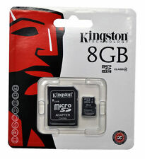 Kingston 8GB 8 Gig MICROSD Micro SD Memory Card For SONY ERICSSON XPERIA ARC S