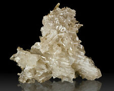 "2.3"" Translucent White RETICULATED CERUSSITE Sixling Twin Crystals for sale"