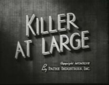 KILLER AT LARGE 1947 ROBERT LOWERY, ANABEL SHAW