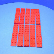 LEGO 10 x Platte 2x10 rot | plate red 3832 383221