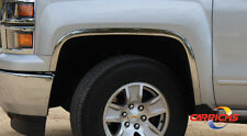 FitsThe 2004-2014 Chevy Colorado/Canyon 4 Pieces Set Stainless Steel Fender Trim