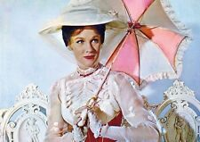Mary Poppins Julie Andrews Umbrella Poster