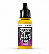 VALLEJO GAME AIR AIRBRUSH PAINT - GOLD YELLOW 17ML - 72.707