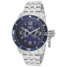 Invicta 14887 Men's Specialty Blue Carbon Fiber Dial Steel Bracelet Dive Watch