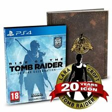 Rise of the Tomb Raider 20 Year Celebration PS4 (Art Book Edition) BRAND NEW