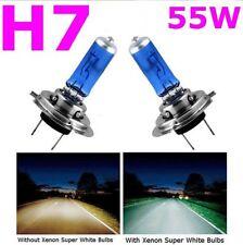 2pcs H7 XENON HALOGEN BULB 5000K Car Super White Light Bulbs 12V 55W C2