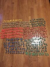 PLASTIC TOY SOLDIER ARMY MEN COLLECTION ~ OVER 345 Pieces ESTATE FIND