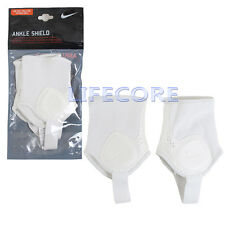 New Nike Ankle Shield Protective Guard Pad SP0236-111 Football Soccer Dual Side