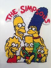 The Simpsons Iron On Embroidered Patch Bart Homer Marge Lisa Maggie