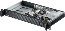 "1U ITX (3.5"" Open Bay) OR (2x2.5HDD) Rackmount Chassis Short(2x4cm Fan Case) NEW"