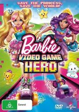 Barbie: Video Game Hero NEW R4 DVD
