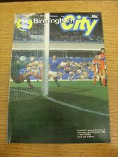 02/10/1982 Birmingham City v Watford  (Creased, Fold). Trusted sellers on ebay b