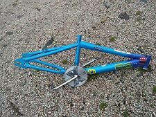 "OLD SCHOOL HUFFY BMX BIKE FRAME 12"" WITH CRANKSET XPOSURE CHAINRING"