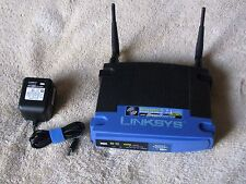 Linksys Wireless-G Broadband Router WRT54GS 2.4 GHZ with Speed Booster