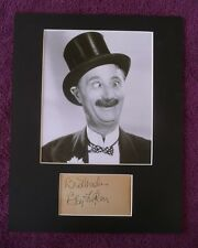 BEN TURPIN SILENT FILM LEGEND RARE SIGNED 3X5  AUTOGRAPHED WITH COA