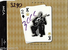 BB KING Deuces Wild PROMO 3 track CD single
