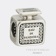 Authentic Pandora Sterling Silver Signature Scent Bead 791889CZ