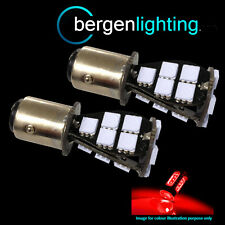 380 P21/5W BAY15D 1157 XENON RED 21 SMD LED STOP TAIL BRAKE LIGHT BULBS ST201602