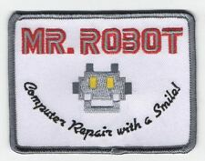 Most Accurate Mr Robot Patch Iron-On / Sew On