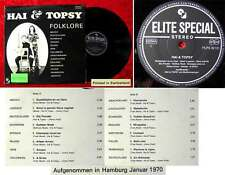 LP Hai & Topsy: Folklore (Elite Special 30 121) CH 1970