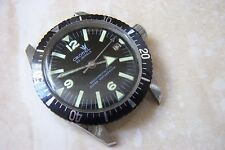 A CRONEL MANUAL WIND CALENDER DIVERS WRISTWATCH c.MID 1960'S NEEDS SERVICE