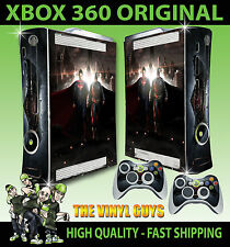 XBOX 360 OLD SHAPE STICKER BATMAN VS SUPERMAN HEROES SUPERHERO SKIN & PAD SKINS