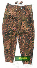 "REPRO WW2 GERMAN ARMY M44 COMBAT TROUSERS in ERBSENTARN CAMO SIZE 56=40"" WAIST"