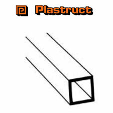Plastruct STFS-4 Pack of 7 Plastic Square Tubing 3.2mm sq x 375mm