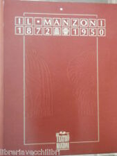 IL MANZONI 1872 1950 STORIA DEL Teatro 1991 LOMBARDIA MILANO EDIFICIO OPERE DELL