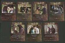 Kristen Stewart Robert Pattinson Bella Swan Edward Cullen Twilight Fab Card LOT