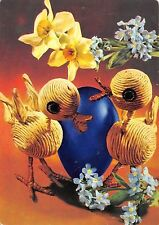 B41030 animals animaux deux poulets caricature  ostern easter germany egg chick