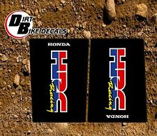 HONDA  CR CRF HRC UPPER FORK MOTOCROSS DECALS STICKERS GRAPHICS