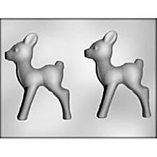 "Deer 5.5"" CHOCOLATE Designer Candy MOLD Reindeer Doe Christmas Hunting"