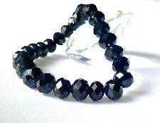 Stunning Black Crystals  Elasticated Bracelet !Great as a Mother's Day Present !