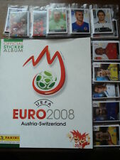 PANINI EMPTY ALBUM + ALL 535 STICKERS EURO FOOTBALL 2008