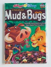 Chocolate Mud & Bugs FRIDGE MAGNET (2.5 x 3.5 inches) cereal box lion king simba