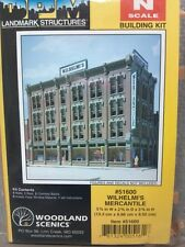 DPM Wilhelmi Mercantile Model Building Structure Kit N Scale #51600 - New