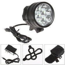 8500 Lumens 7X CREE XM-L T6 LED Bicycle Torch Light  & 10000mAh Battery Pack