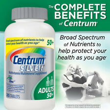 CENTRUM SILVER Multivitamin 285 tablets FOR ADULTS OVER 50 multimineral 50+