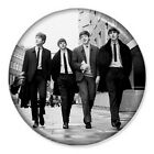"The Beatles Walking 25mm 1"" Pin Badge Button Iconic Lennon McCartney Ringo Band"