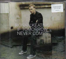 Ronan Keating-If Tomrrow Never comes promo cd  single incl video