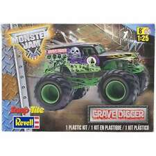 SnapTite Plastic Model Kit-Grave Digger Monster Truck 1:25 031445019784