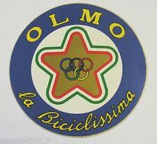 VECCHIO ADESIVO CICLISMO / Old Sticker Bike OLMO LA BICICLISSIMA (cm 9) a