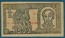 VIET NAM - 10 DONG Pick n° 22. de 1948. en TTB   D CP 153 TL 084