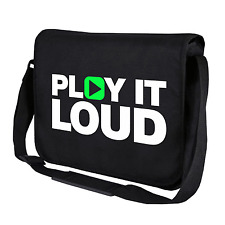 Play it Loud | Music | Musik | DJ | Clubbing | Umhängetasche | Messenger Bag